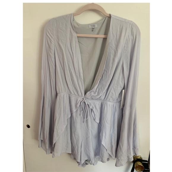 Tobi Dresses & Skirts - Light Blue romper